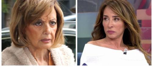 María Patiño y María Teresa Campos