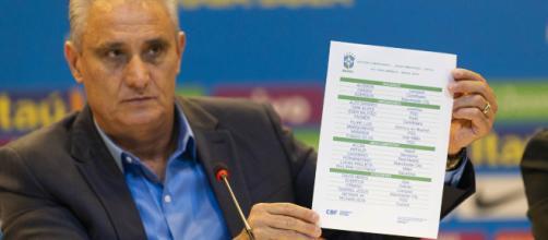 Tite divulgou a lista de convocados da seleção brasileira para a Copa América. (Arquivo Blasting News)