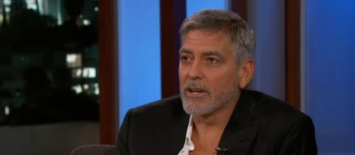 Will George Clooney Be the Royal Baby's Godfather? [Image source/Jimmy Kimmel Live/YouTube]