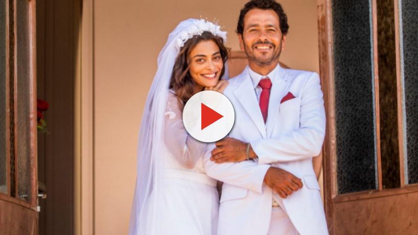 'A Dona do Pedaço', capítulos da 1ª semana: casamento de Maria e Amadeu termina em tragédia