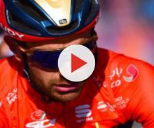 Damiano Caruso, gregario di Nibali al Team Bahrain Merida