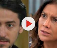 Janaína descobrirá golpe do filho e o agredirá na novela 'Verão 90'. (Reprodução/ TV Globo)