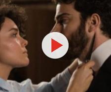 Una Vita, trame: Blanca minaccia Diego con un tagliacarte