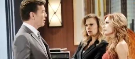 'Y&R' may pair Jack with Lauralee which would trouble Phyllis. [Image Source:Updated Spoilers-YouTube]