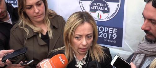 Giorgia Meloni, Fratelli d'Italia.
