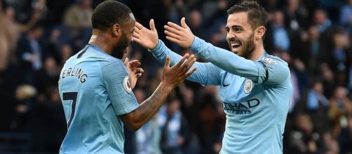 Sterling et City lors de la victoire contre Watford.