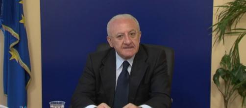 Vincenzo De Luca scatenato contro Matteo Salvini e Luigi Di Maio
