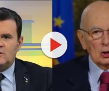 Centinaio attacca Giorgio Napolitano dopo le accuse di anti-europeismo