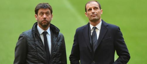 Allegri e Agnelli guardano al futuro ma con mire differenti. Foto di: goal.com