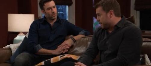 Drew may know a secret about Shiloh. - [General Hospital / YouTube screencap]