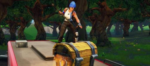 Looting change is coming to 'Fortnite.' [Source: In-game screenshot]
