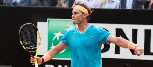 Rafael Nadal, vincitore per la nona volta in carriera degli Internazionali d'Italia