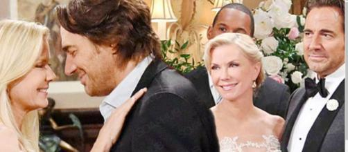 Ridge and Brooke's marriage falls apart after Hope divorces Liam. [The Bold and the Beautiful/YouTube/Screencap]