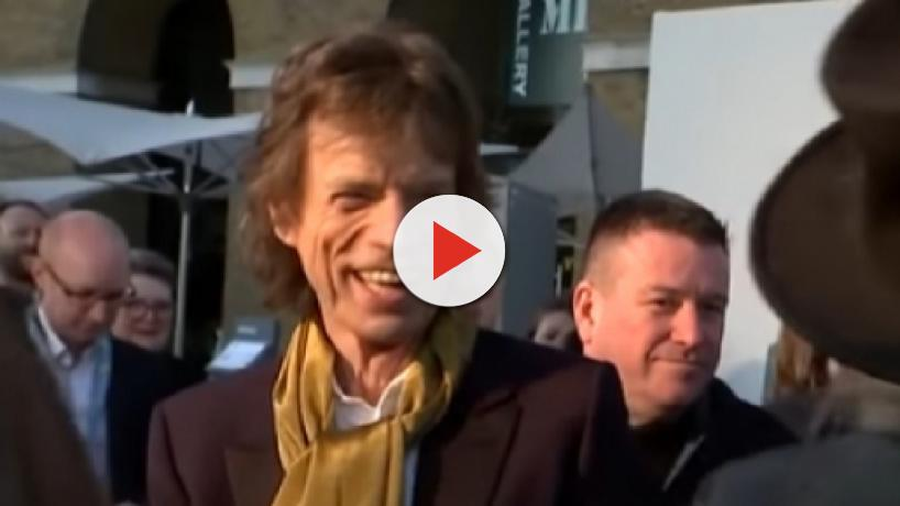 Sir Mick Jagger has taken up the guitar again after undergoing heart surgery