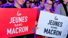 Des 'préservatifs macroniens' pour la campagne des européennes