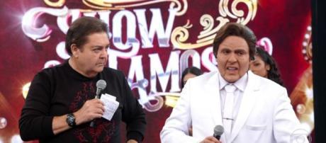 Ceará chora ao revelar problema de saúde no 'Show dos Famosos'. (Reprodução/ TV Globo)