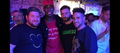 Juventus, Pogba presente alla festa di Barzagli