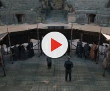 Cenas finais de 'Game of Thrones'. (Reprodução/HBO)