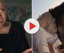 Dulce contará para a neta que matou por amor. (Reprodução/TV Globo)