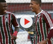 Marquinhos Calazans, à esquerda, deixa o Flu e acerta com o São Paulo. (Divulgação/Mailson Santana/Fluminense)