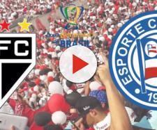 São Paulo x Bahia ao vivo na TV Globo e SporTV. (Reprodução/ Montagem)