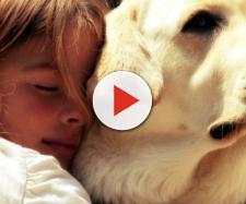 Una grabación de un niño lleno de emoción
