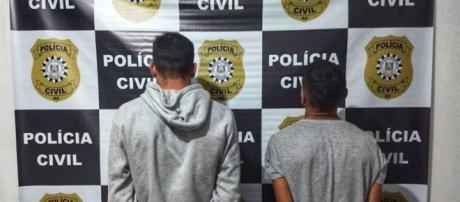 Os homens foram presos pela Polícia Civil. (Divulgação/Polícia Civil-RS)