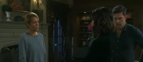 Nicole lashes out against Chloe. - [Days of our Lives / YouTube screencap]