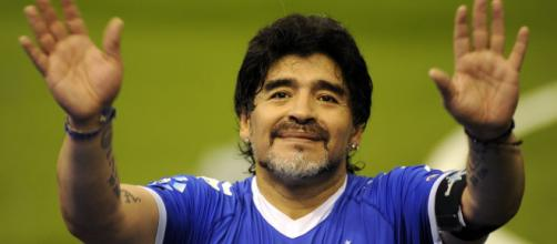 Diego Armando Maradona Napoli figlio