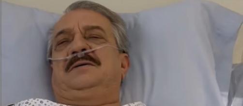 Frederico vai descobrir que tem uma filha. (Reprodução/Televisa)