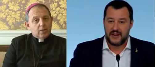 Il vescovo di Imperia prende le parti di Salvini sui migranti