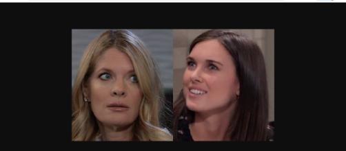 Nina causes Willow problems with Shiloh.(Image Source: ABC Soap Spoilers-YouTube.)