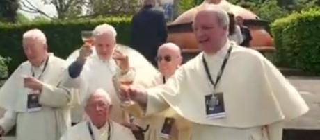 Belgian monks brew medieval beer for first time in 200 years. [Image source/Aaron YouTube video]