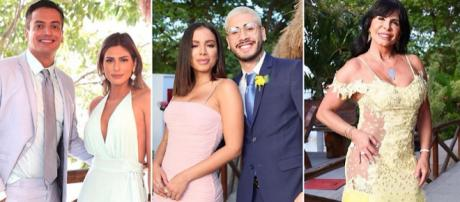 Cerimônia contou com a presença de diversos famosos. (Reprodução/Instagram/@hugogloss)