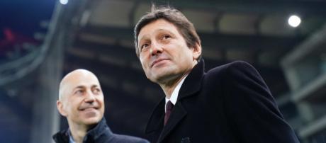 Gazidis e Leonardo allo Stadio