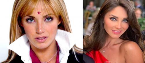 Alguns atores mudaram a aparência após o fim da novela Rebelde. (Divulgação/Televisa/Instagram/@anahi)