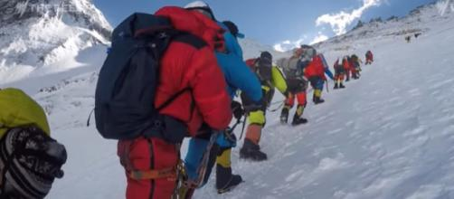 Everest Sherpas: 'They're not heroes. They're rockstars.' [Image source/The Feed YouTube video]