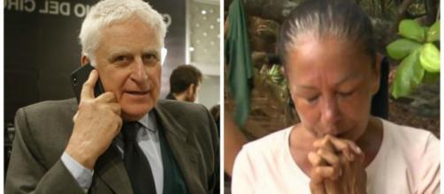 Paolo Vasile e Isabel Pantoja. / El Español