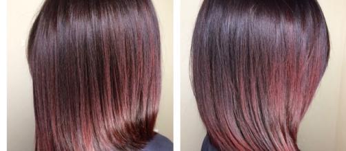 Nuovi tagli medi primavera-estate: il collarbone cut e la tonalità burgundy