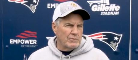 Bill Belichick talked about N'Keal Harry during his press conference. [Image source: Patriots.com]