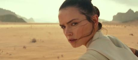 """""""Rise of the Skywalker"""" is believed to focus on the relationship between Rey and Kylo Ren. [Image Credit] Disney/YouTube"""