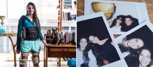 Ex-ginasta contou que pretende se casar na praia. (Reprodução/Instagram/@lalikasouza)