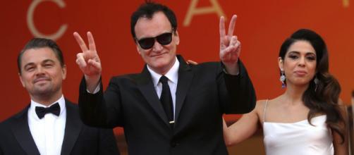 Quentin Tarantino al festival di Cannes