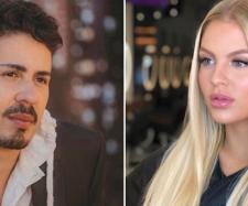 Luisa e o marido não compareceram ao casamento de Carlinhos. (Reprodução/ Instagram/ @carlinhosmaiaof/ @luisasonza)