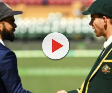Australia vs India live on Fox Sports (Image via Hotstar screencap)