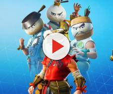 Fortnite is getting a Dumpling outfit. [image credts Tridzo/YouTube screenshot]
