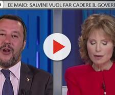 Matteo Salvini si scusa con Lilli Gruber