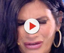 Pamela Prati in lacrime a Verissimo