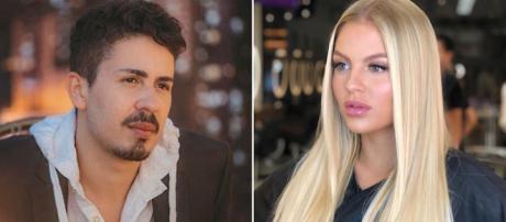 Luisa e o marido não compareceram ao casamento de Carlinhos. (Reprodução/Instagram/@carlinhosmaiaof/@luisasonza)