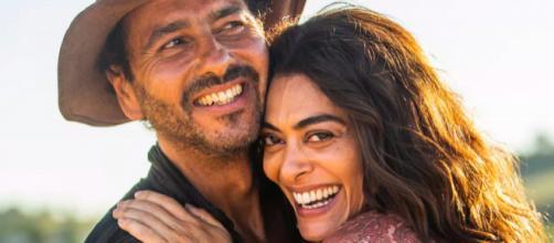 Após anos, Amadeu e Maria se reencontram em 'A Dona do Pedaço'. (Divulgação/TV Globo)